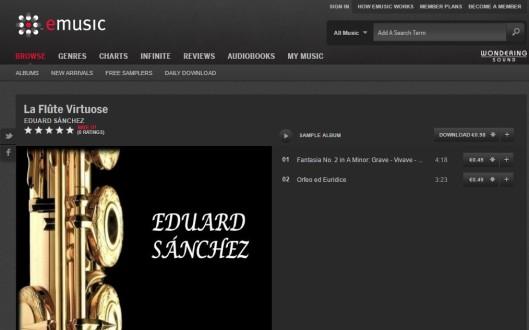 Eduard Sánchez flute