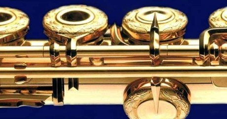copia de flauta azul marino