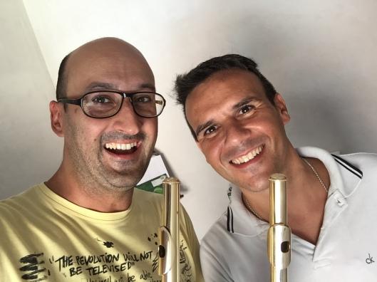 Eduard Sanchez flute